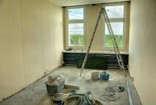 Pokój Marcina podczas remontu