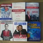 Książki, które przyjechały na NAC